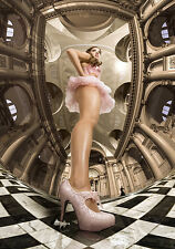 Limited Edition Art Giclee Print Photo Surreal Tutu Dog - A n d y t o o k i t