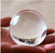 Asian Quartz Pure Clear Magic Crystal glass Healing Ball Sphere 60mm + Stand AA