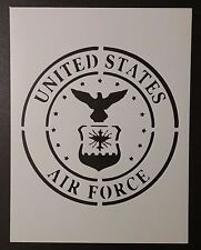 "US U.S. United States Air Force #2 8.5"" x 11"" Stencil FAST FREE SHIPPING"