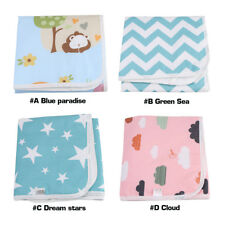 Baby Infant Cotton Waterproof Urine Mat Changing Pad Cover Change Mat - 50x70cm