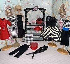 Vintage Barbie Clone Doll & Clothes Lot