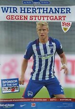 Stadionmagazin 2015/16 Hertha BSC Berlin - VfB Stuttgart