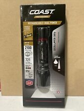 Coast XP11R 2100 Lumen Dual Power Rechargeable Flashlight