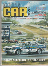 Racing Car News 1977 Jul Cortina TE Le Mans Singapore Marathon Oran Park Adelaid