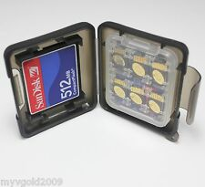 9 in 1 Memory Card Case box Container, CF/MS/MicroSD/SD Storage Case Cover