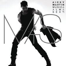 Ricky Martin - Musica + Alma + Sexo (2011)  CD  NEW/SEALED  SPEEDYPOST
