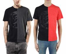 Diesel T Joe NX Camiseta Hombre Manga Corta Cuello Redondo Casual Verano Algodón