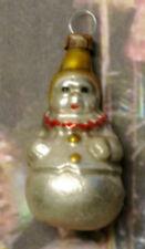 """Small Clown Roly-Poly: """"Vintage Style"""" Ornament From Lauscha, Germany"""