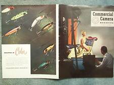 1950 COMMERCIAL CAMERA MAGAZINE  VOL 3 NO 2  EASTMAN KODAK COMPANY  ROCHESTER NE