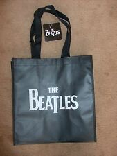 """The Beatles Shopper Totes Re-Useable Shopping Bag 12"""" x 13.5"""" x 7.5"""" NEW"""