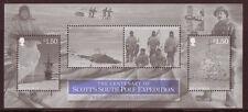 ISOLA di Man 2012 Scott SOUTH POLE Expedition MS unmounted Nuovo di zecca, Gomma integra, non linguellato