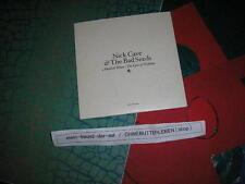 CD Indie Nick Cave Bad Seeds -Abattoir Blues Album Promo MUTE