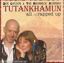 SUE CASSON & BRANNICK ACADEMY - Tutankhamun All Wrapped Up (UK 18 Trk CD Album)
