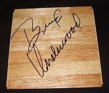 Brad Underwood Signed 6x6 Parquet Floor Tile Exact PROOF Stephen F Austin Auto