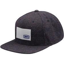 100% Noble Speckled laine casquette bonnet noir MX Enduro motocross quad MTB