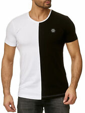 Redbridge Herren T-Shirt Kurzarm Shirts Rundhals Casual Club Sheer Half M1285