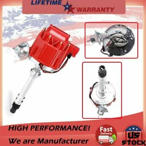 HEI Distributor Ignition For CHEVY SBC BBC 350 Block Chevy Street Fire 59107C US