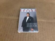 PEABO BRYSON SHOW AND TELL FACTORY SEALED CASSETTE SINGLE