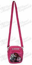 """6"""" Monster High Camera Messenger Shoulder Purse Bag - Pink"""