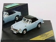 WOW EXTREMELY RARE Honda S600 Soft Top 56HP 1964 Blue Grey 1:43 Vitesse-DISM