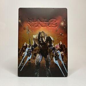 Halo Wars Steelbook Edition (Xbox 360, 2009) Case + Disc, No Manual