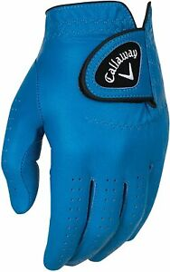 Callaway Golf RH OptiColor Full Leather Glove - COLOR: Blue - SIZE: X-Large