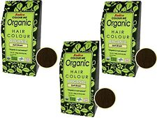 3 X 100g RADICO Colour Me 100 Organic Hair Color - Dark Brown