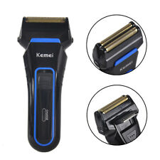Kemei Electric Shaver Wet and Dry Use Rechargeable Razor Trimmer AC110-220V