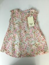 Mayoral Casual Baby Girls Floral Dress Age 18 Month Brand New With Tags
