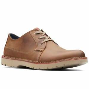 Clarks Vargo Plain Mens Casual Shoes
