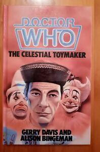 1st Dr Doctor Who The Celestial Toymaker Steven Dodo WH Allen NOT EX LIBRARY