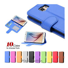 New Wallet PU Leather Flip Case Card Slot Cover For  Galaxy S6 S7 edge