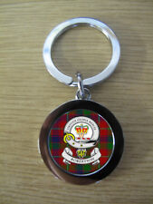 ROBERTSON CLAN KEY RING (METAL) IMAGE DISTORTED TO PREVENT INTERNET THEFT