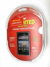 NIB LG Optimus Zone Android Cell Phone Prepaid Verizon Wireless Smartphone New