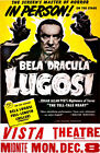 Dracula Bela Lugosi On-Stage Theater 11 x 17 High Quality Poster