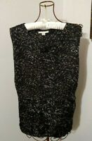 Coldwater Creek Crinkle Blouse ~ Size S