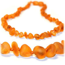 The Art of Cure Raw Caramel Chip Certified Baltic Amber Necklace - 12.5 Inch