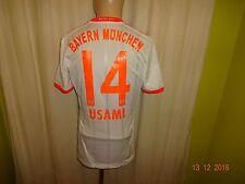 FC Bayern München Adidas Techfit Matchworn Trikot 2012/13 + Nr.14 Usami Gr.7 (L)