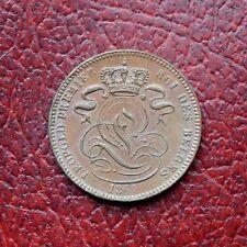 Belgium 1861copper centime