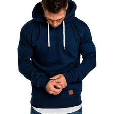 Men Hooded Hoodie Coat Jacket Outwear Sweater Fit Jumper Loose Pullover Tops