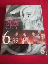 Sex And The City - Series 6 (DVD, 2004, Box Set) NEW & SEALED