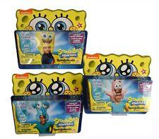 "Lot of Sponge Bob Squarepants, Patrick, & Squidward Inflatable Sponge Head, 21"""