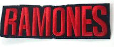 The Ramones 12cm bestickt Applikation Abzeichen Moral Aufnäher nähen