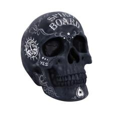 NEMESIS NOW - SPIRIT BOARD - SKULL 20cm FIGURINE ORNAMENT OUIJA WICCA