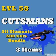 [PS4] Borderlands 3 - LVL 53 Cutsman - set of 3 Anointed ASE 100% DMG God Roll