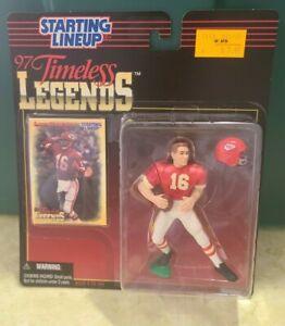 1997 Starting Lineup Timeless Legends Len Dawson With Card New In Package