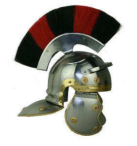 Centurio Römer Helm Legionär Centurion Ritter Gladiator Lorica Maximus sca R05DI