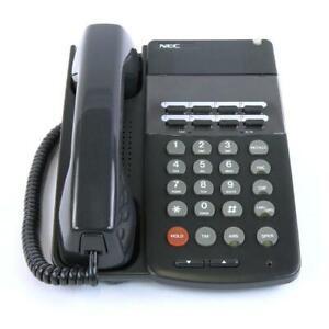 NEC ELECTRA PROFESSIONAL ETW-8-2 (BK)TEL 730205 Phone Gray REFURB YEAR Warranty