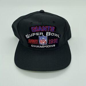 Vtg Sports Specialties Super Bowl Champion 1991 Snapback New York Giants OSFM