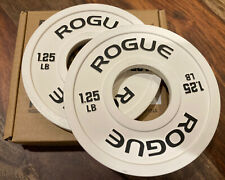 Rogue Fitness 1.25 LB Change Plates - White